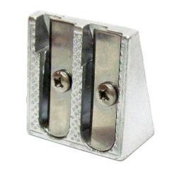 Точилка металлическая двойная ST01586