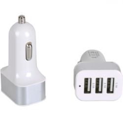Автомобильный 3 - USB адаптер 1.1А / 2.1А / 3.1а