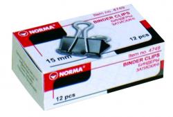 Биндер NORMA 19мм черный 4750