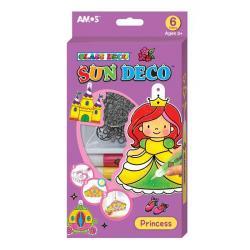 Набор для творчества Sun Deco Принцесса 6 цветов х 10,5мл SD10P6-P