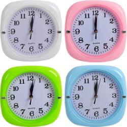 Настенные часы Квадрат цветной 652