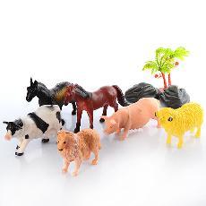 Животные домашние 6шт в кул NC5-006A 8см