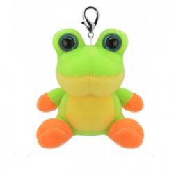 Игрушка мягконабивная Wild Planet Лягушонок брелок, K8182