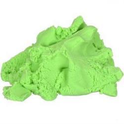 Кинетический песок COLOR-IT 500г зеленый