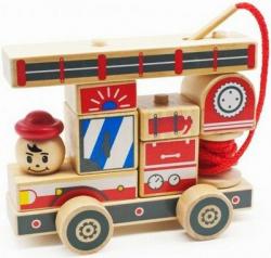 Деревянный конструктор - автомобиль №2