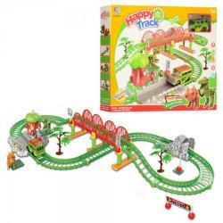 Игровой набор Happy Track Трек с динозаврами, 95-81