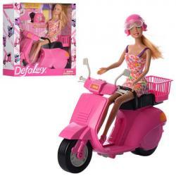 Кукла 28см., Мотоцикл 27,5см., Шлем, DEFA 8246