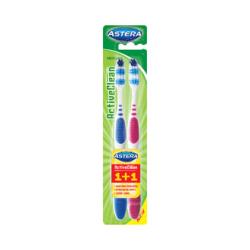 Зубная щетка Astera Active Clean 1 + 1