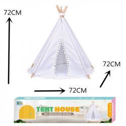 Палатка Вигвам белый, RE333-95