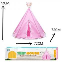 Палатка Вигвам розовый, RE333-96