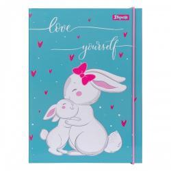 Папка для тетрадей 1Вересня  Bunny  картонная B5, 491834