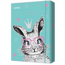 Папка для тетрадей В5 Kite  Cute Bunny  K21-210-1