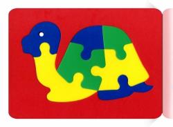 Мозаика-вкладыш мягкая Черепаха
