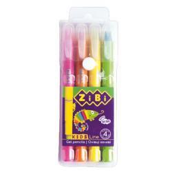 Пастель гелевая JUMBO 12 цветов  Neon   BABY Line  Zibi ZB2496