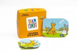 Пазлик для детей Котик 6 элементов ТАКА МАКА 160001-UA