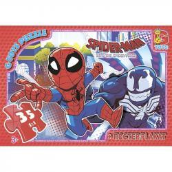 Пазлы G-Toys Человек-паук, 35 элементов, SM891