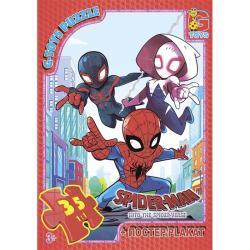 Пазлы G-Toys Человек-паук, 35 элементов, SM892