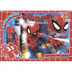 Пазлы G-Toys Человек-паук, 35 элементов, SM893