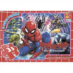 Пазлы G-Toys Человек-паук, 35 элементов, SM894