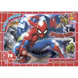 Пазлы G-Toys Человек-паук, 70 элементов, SM896