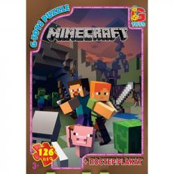 Пазлы G-Toys Minecraft, 35 элементов, MC775