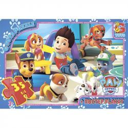 Пазлы G-Toys Paw Patrol, 35 элементов, PW0852