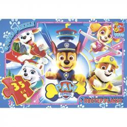 Пазлы G-Toys Paw Patrol, 35 элементов, PW0852-copy48953