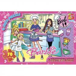 Пазлы G-Toys  Barbie , 70 элементов, BA025