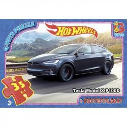 Пазлы G-Toys  Hot Wheels , 35 элементов, FW727