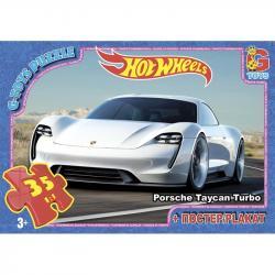 Пазлы G-Toys  Hot Wheels , 35 элементов, FW728