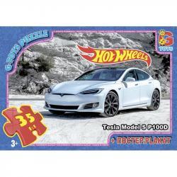 Пазлы G-Toys  Hot Wheels , 35 элементов, FW729