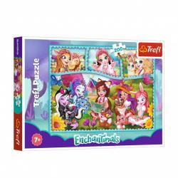 Пазлы Trefl Mattel Enchantimals 200 элементов 13261