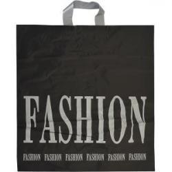 Пакет ламинированный черно-белый FASHION ППб45х47