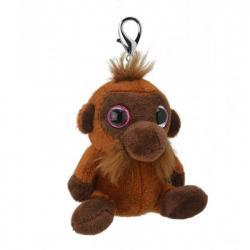 Игрушка мягконабивная Wild Planet Орангутанг брелок, K8178