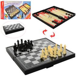 Шахматы магнитные 3 в 1 (шашки, нарды) 1818