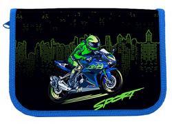 Пенал  Motobike , 1-яр., пустой, CLASS 21008C
