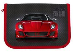 Пенал  Red Car , 1-яр, с 2 отв., Пустой, CLASS 21210C