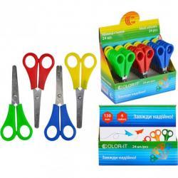 Ножницы COLOR-IT детские 13см 508 Разноцветные