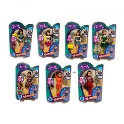 Кукла 21 см. Шарнирная, аксессуары, XQ013-1-2-3-4-5-6
