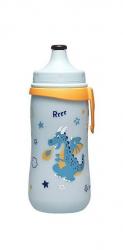 Бутылка с выдвижной крышкой 330мл (мальчик) 35051