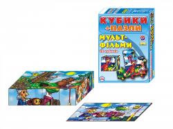 Кубики Пазлы  Мультфильмы  2582