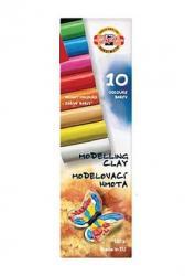 Пластилин 10 цветов 200 г  Мотылек  KOH-I-NOOR, 20663