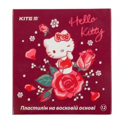 Пластилин 12 цветов 240 г  Hello Kitty  Kite, HK19-1086