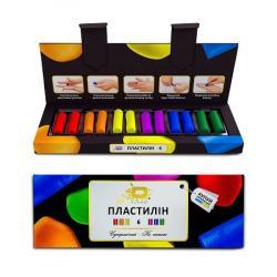 Пластилин 6 цветов ОКТО 91001