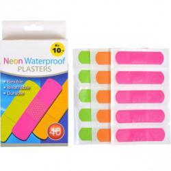 Пластир Neon Waterproof 7,2*1,9мм X1-52
