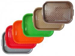 Поднос пластиковый 50х35 см ММ-Пласт П00143