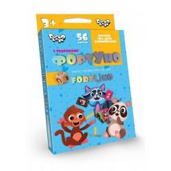 Развивающая игра ФортУно 56 карточек, ДТ-МН-14-28