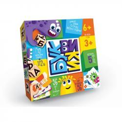 Развлекательная игра Danko Toys Буквики, ДТ-МН-14-44