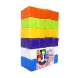 Кубики 48шт. 6*6*6см в сетке 02-605 KW