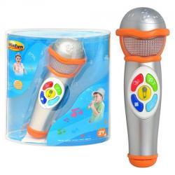 Микрофон 22см (звук, свет, на батарейках), 2052 NL